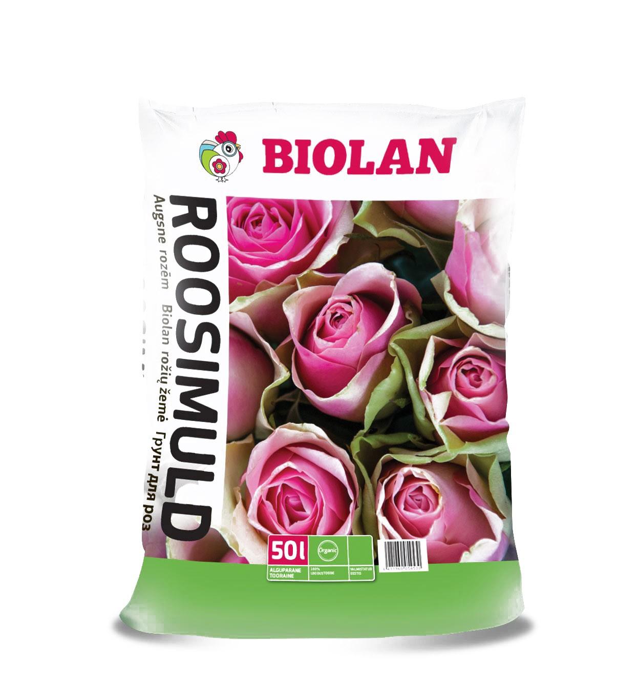 Грунт для роз Biolan / 50л